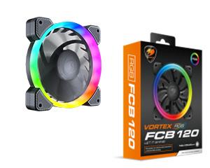 COUGAR VORTEX RGB FCB 120 Cooling Fan