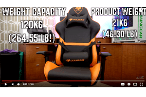 This is made to be the ultimate gamers's chair. The chair is actually really really comfortable.